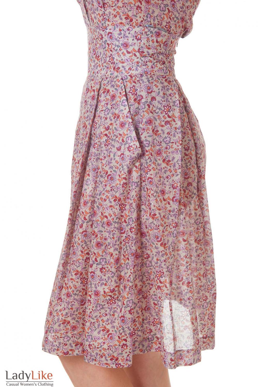 Купить юбку летнюю с высокой талией Деловая женская одежда