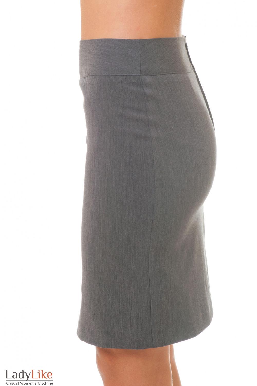 Купить серую юбку Деловая женская одежда