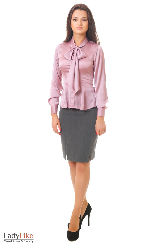 Купить юбку с завышенной талией Деловая женская одежда