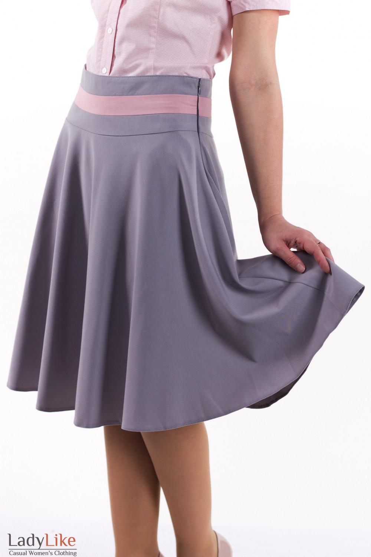 Фото Юбка-солнцеклеш Деловая женская одежда