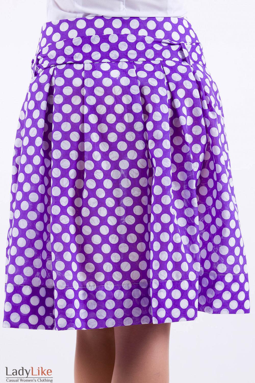 Длинная юбка в горошек своими руками