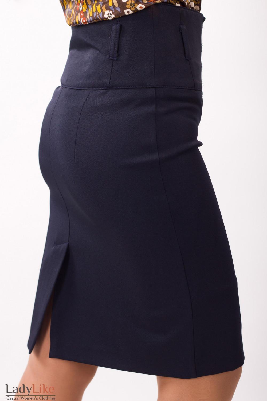 Фото Юбка с корсетом Деловая женская одежда