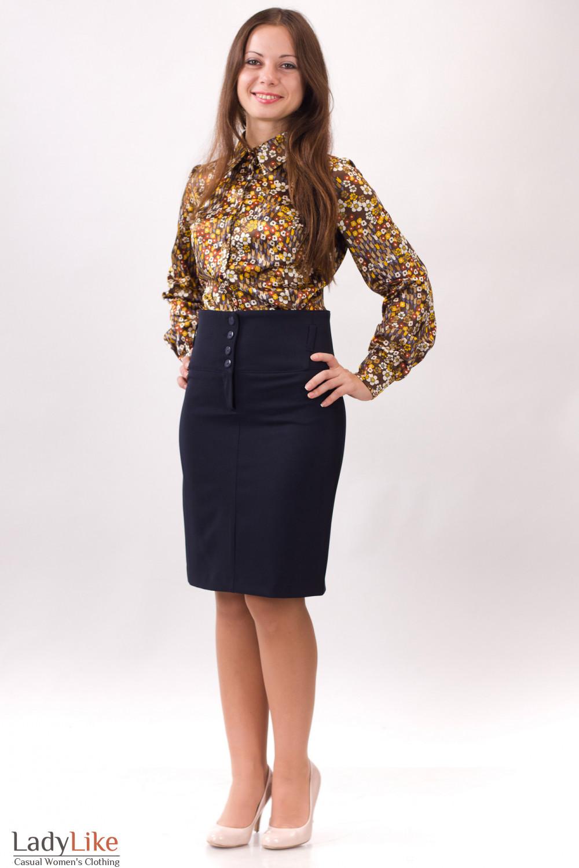 Фото Юбка стильная Деловая женская одежда