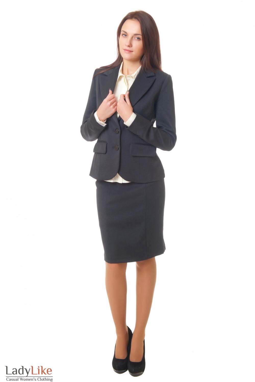 Купить теплый костюм Деловая женская одежда