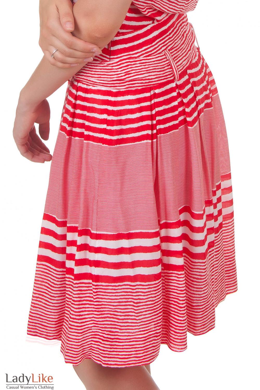 Купить юбку в полоску Деловая женская одежда