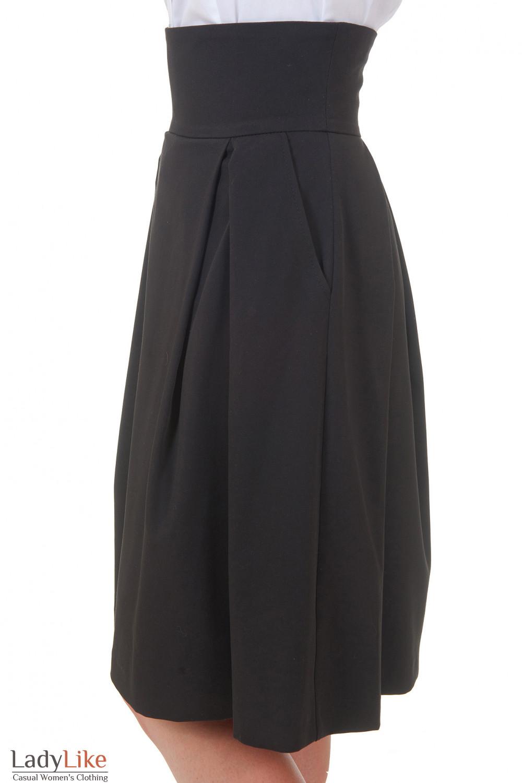 Юбка с карманами Деловая женская одежда