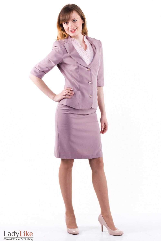 Фото Летний костюм Деловая женская одежда