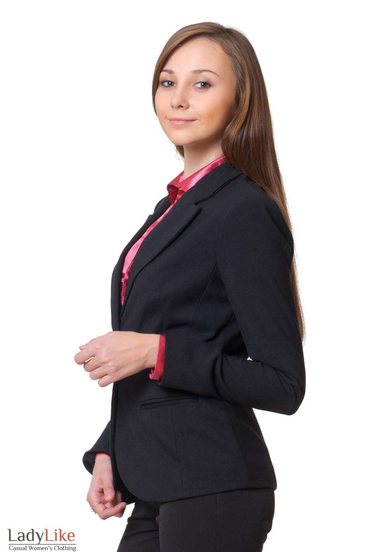 Купить удлиненный жакет Деловая женская одежда