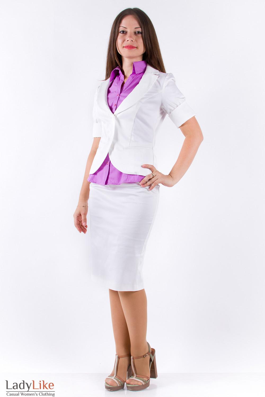 Фото Жакет деловой Деловая женская одежда