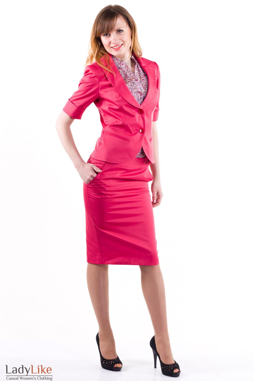Фото Костюм офисный Деловая женская одежда