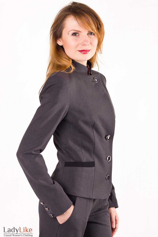 Фото Женский пиджак Деловая женская одежда