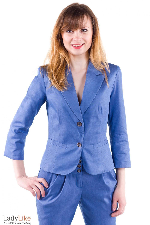 Фото Стильный жакет Деловая женская одежда