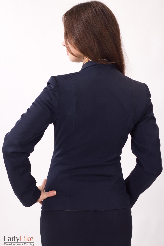 Фото Жакет с защипами Деловая женская одежда
