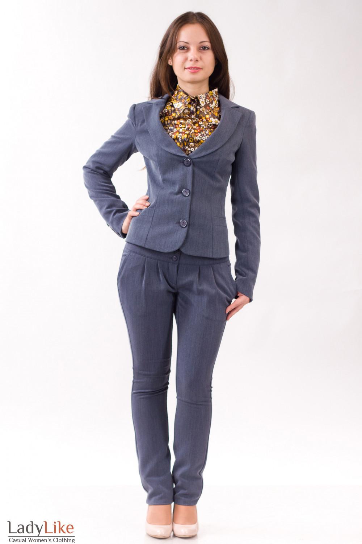 Фото Теплый костюм Деловая женская одежда
