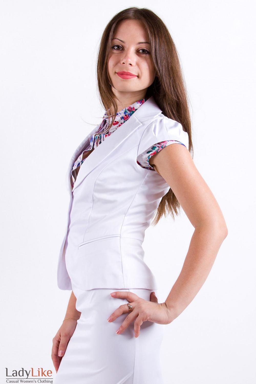 Фото Жилетка в офис Деловая женская одежда