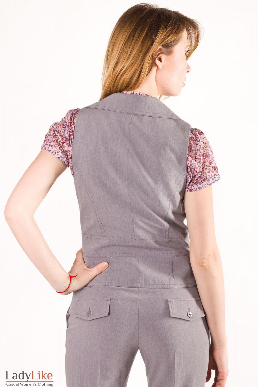 Фото Жилетка стильная  Деловая женская одежда