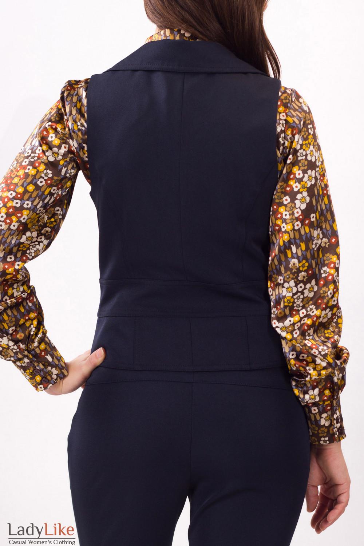 Фото Жилетка облегающая Деловая женская одежда