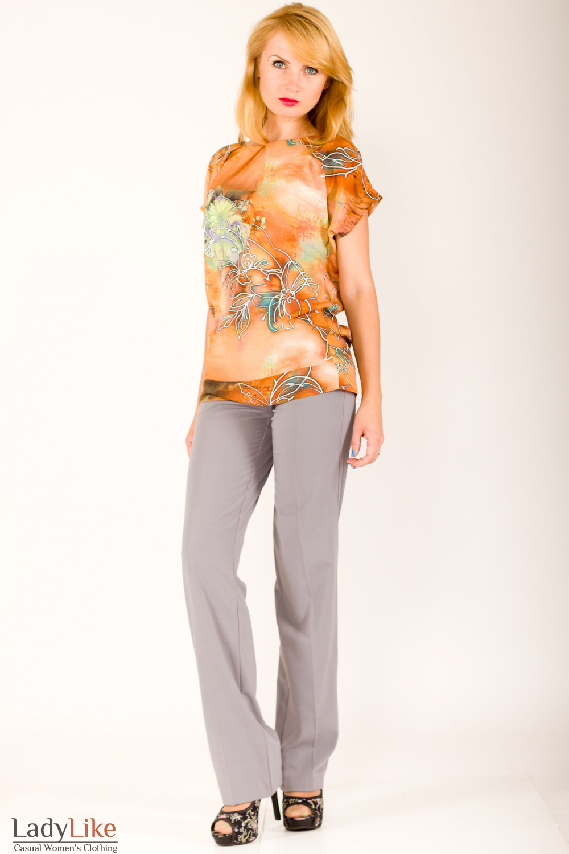 Фото Блузка к костюму Деловая женская одежда