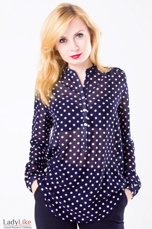 Блузка из шифона где купить