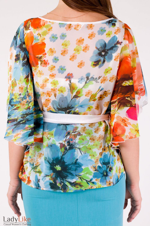 Фото Блузка с крыльями Деловая женская одежда