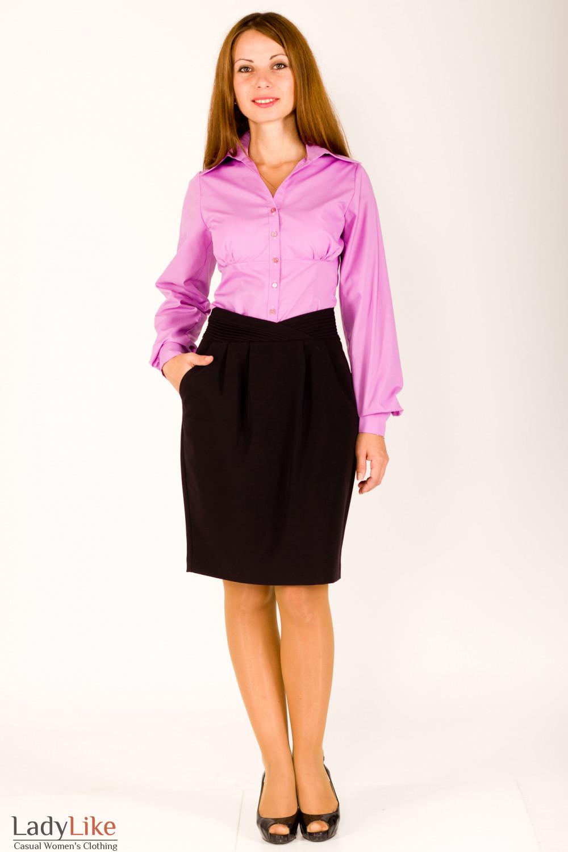 Фото Блузка под жакет Деловая женская одежда