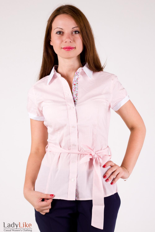 Блузки с вставками