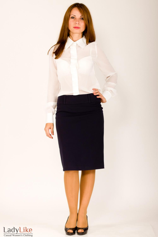 Фото Блузка в офис Деловая женская одежда
