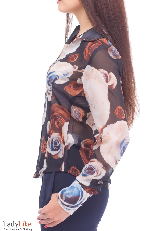 Купить шифоновую блузку Деловая женская одежда