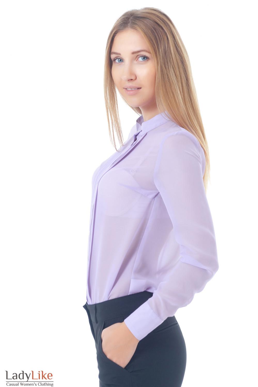 Купить блузку со складками Деловая женская одежда