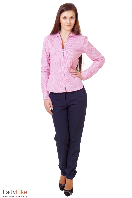 Купить блузку с женскими брюками Деловая женская одежда