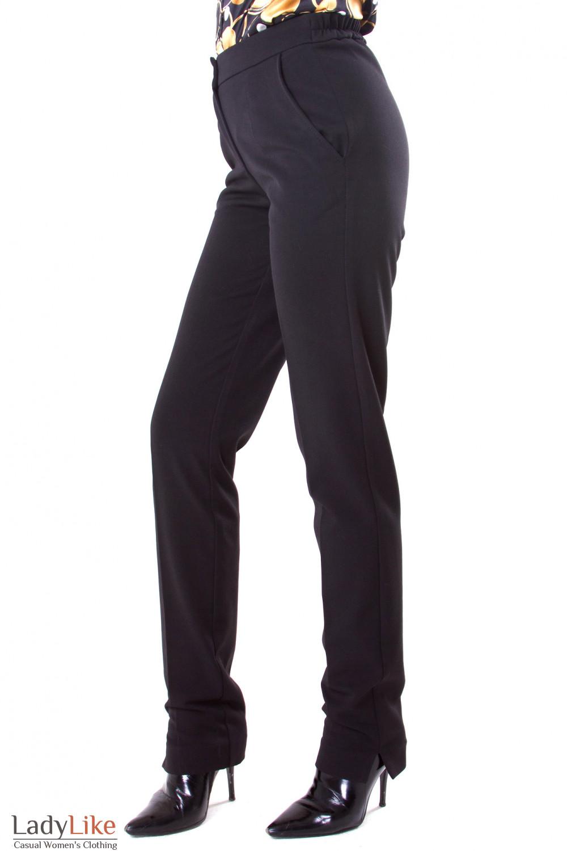 Фото Брюки на флисе Деловая женская одежда