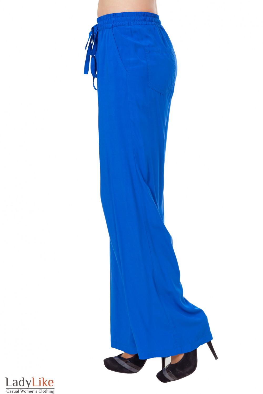 Купить женские летние штаны из штапеля Деловая женская одежда