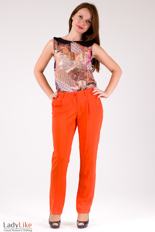 Фото Стильные брюки Деловая женская одежда