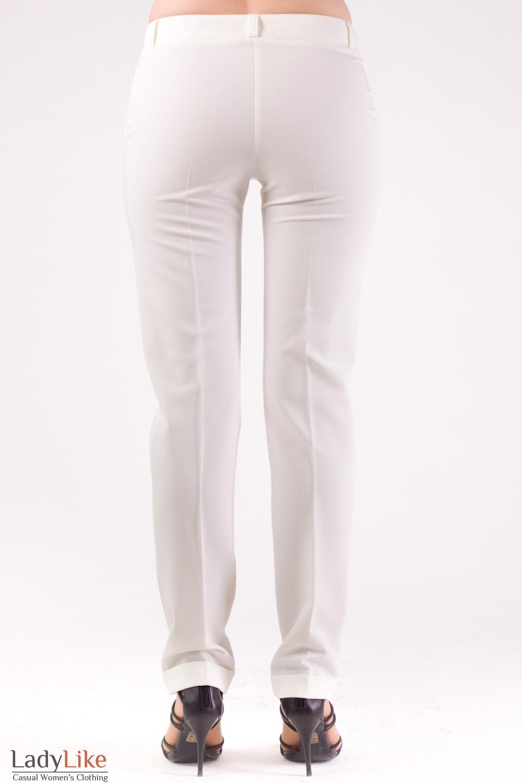 Фото Брюки светлые Деловая женская одежда