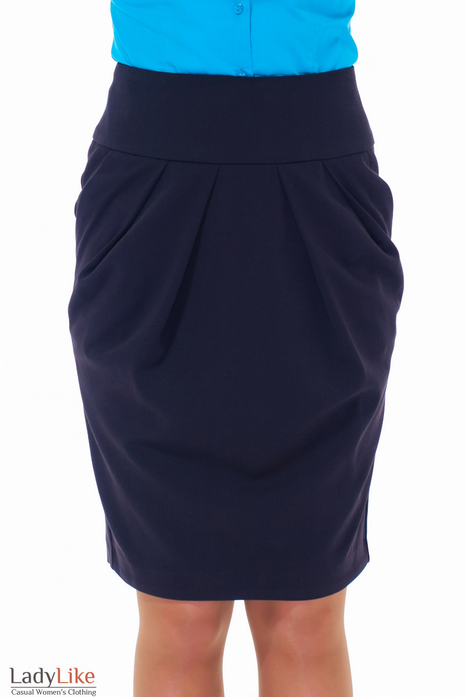 Черная юбка осеньм