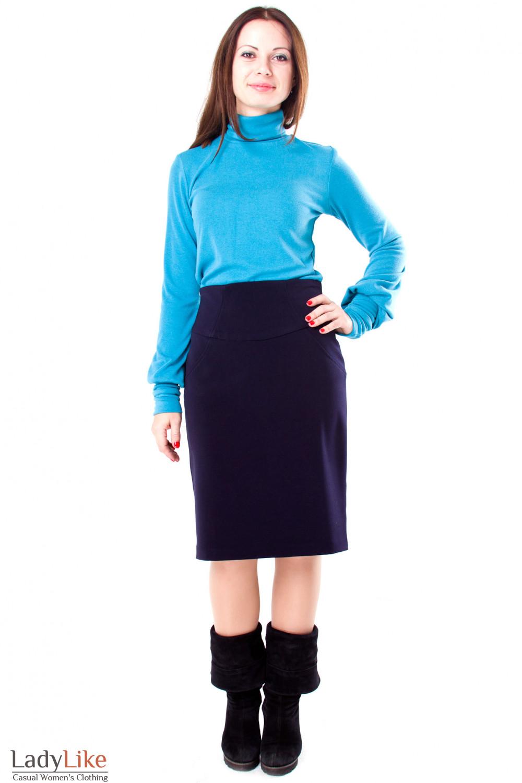 Фото Гольф теплый Деловая женская одежда