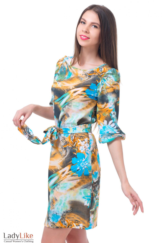 Купить платье из креп-шифона