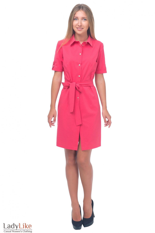 Купить летнее платье сафари Деловая женская одежда