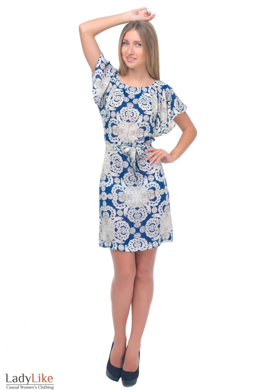 Купить летнее платье свободного кроя Деловая женская одежда