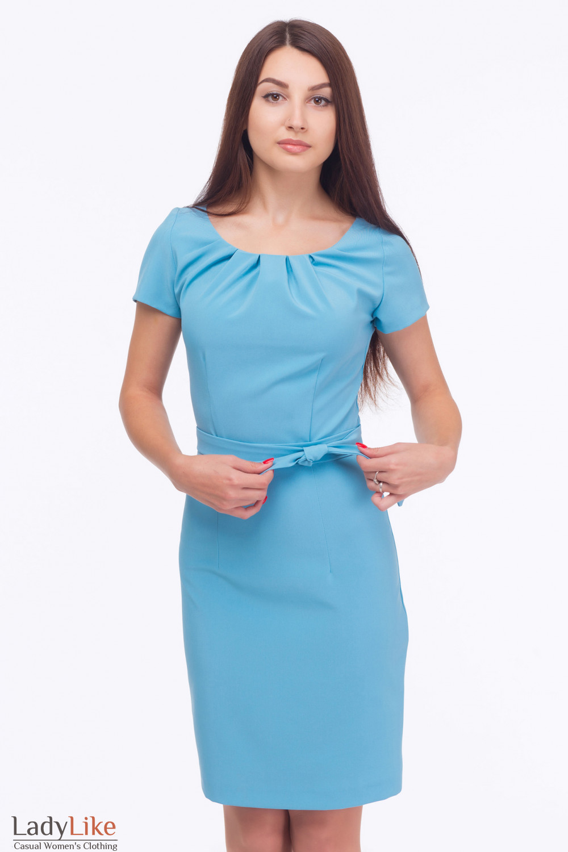 Защипы на платье