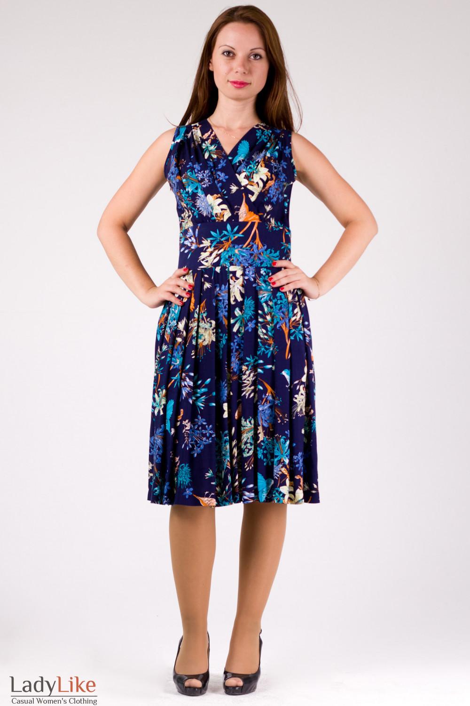 Фото Платье из хлопка Деловая женская одежда
