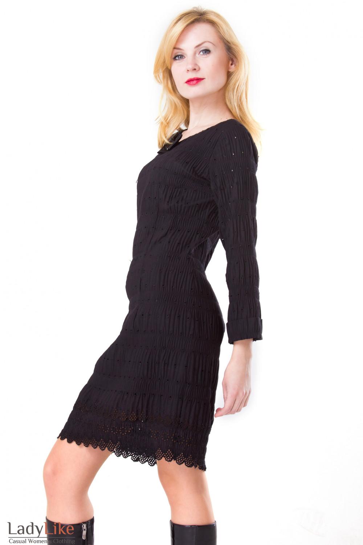 Фото Хлопковое платье Деловая женская одежда