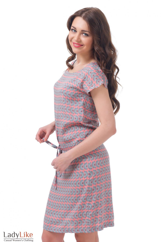 Купить нежно розовое платье Деловая женская одежда