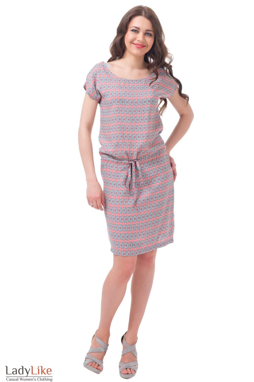 Купить платье летнее с кулисой Деловая женская одежда