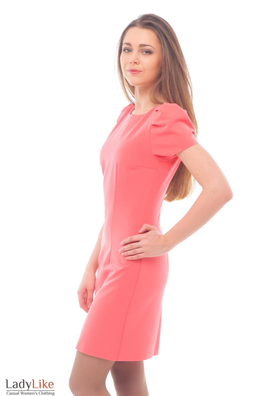 Купить розовое платье Деловая женская одежда