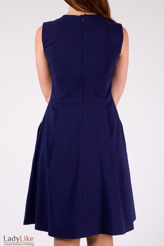 Фото Платье-трапеция Деловая женская одежда