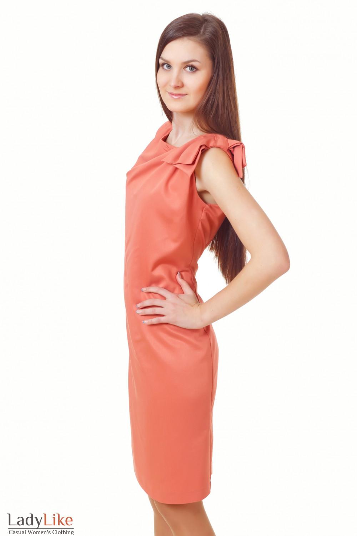 Купить терракотовое платье Деловая женская одежда
