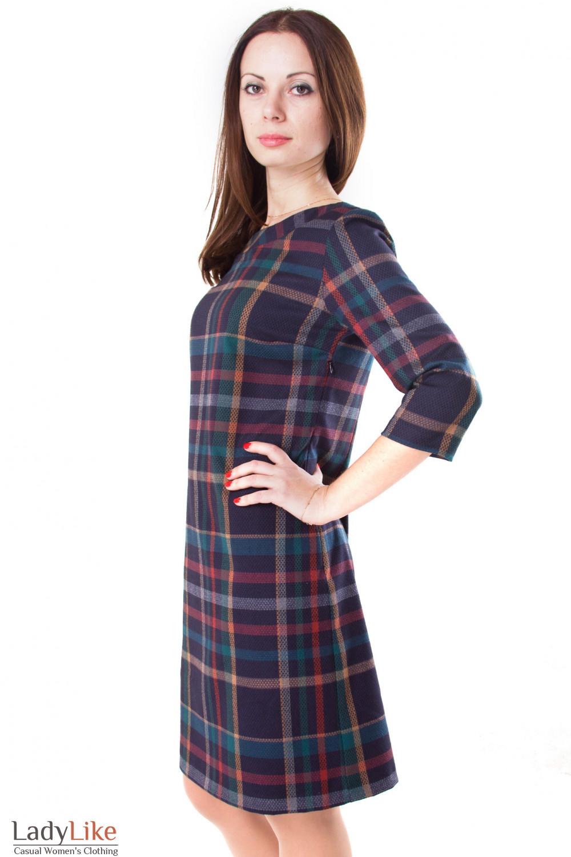 Фото Платье шерстяное Деловая женская одежда