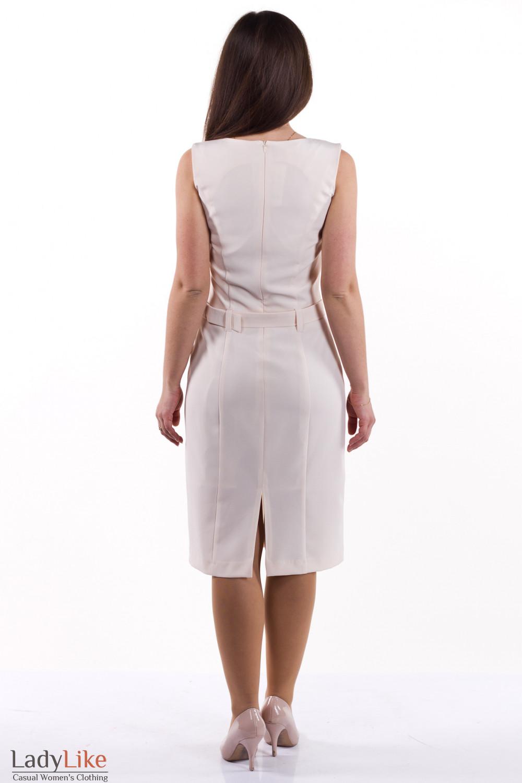 Фото Сарафан светлый Деловая женская одежда