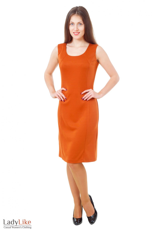 Купить трикотажный сарафан Деловая женская одежда